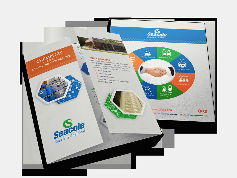 Seacole Gate Fold Brochure Mockup 1