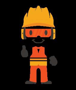 Tips Safety Guy Full Body Logo 4c