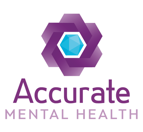Accurate Mental Health Logo Stacked Rgb 500px