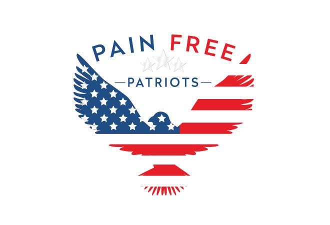 Om Cw Pain Free Patriots Logo