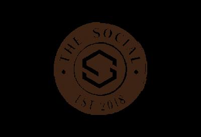 The Social Logo Brown 660