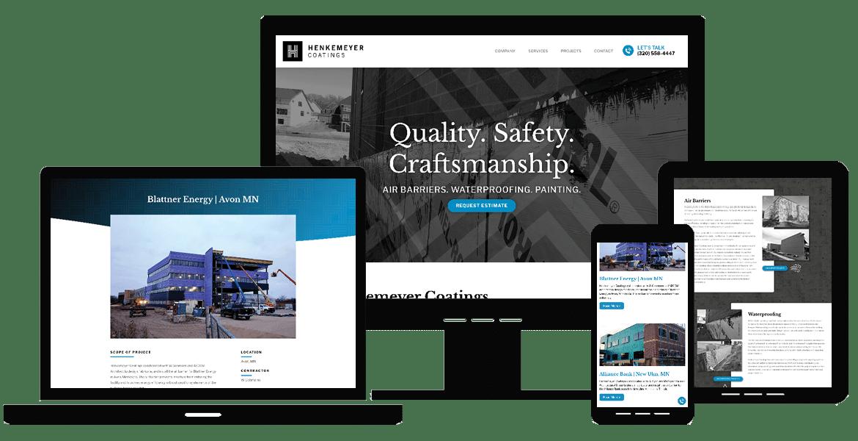 Om Web Design Portfolio Henke