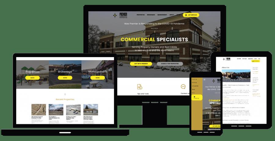 Om Web Design Portfolio Premier